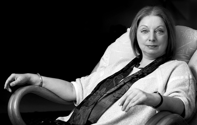 ©Neil Turner/TSL. Hilary Mantel, January 2007.