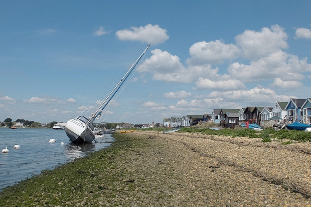 ©Neil Turner, May 2013. Mudeford Spit, Dorset