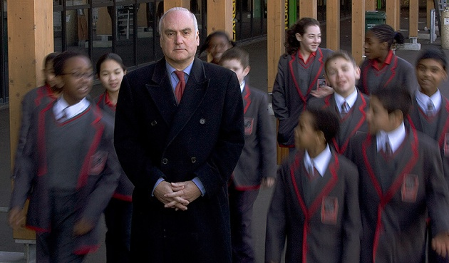 ©Neil Turner/TSL. March 2006. Sir Michael Wilshaw was head of Mossbourne Academy at the time this picture was taken.