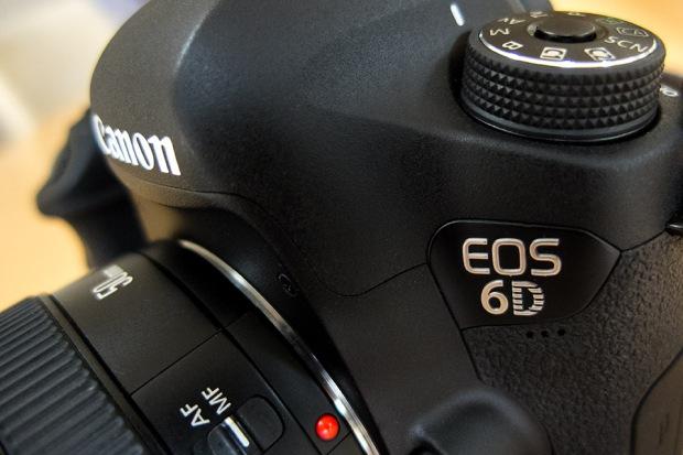 Canon's small, light full frame DSLR. ©Neil Turner, September 2014.