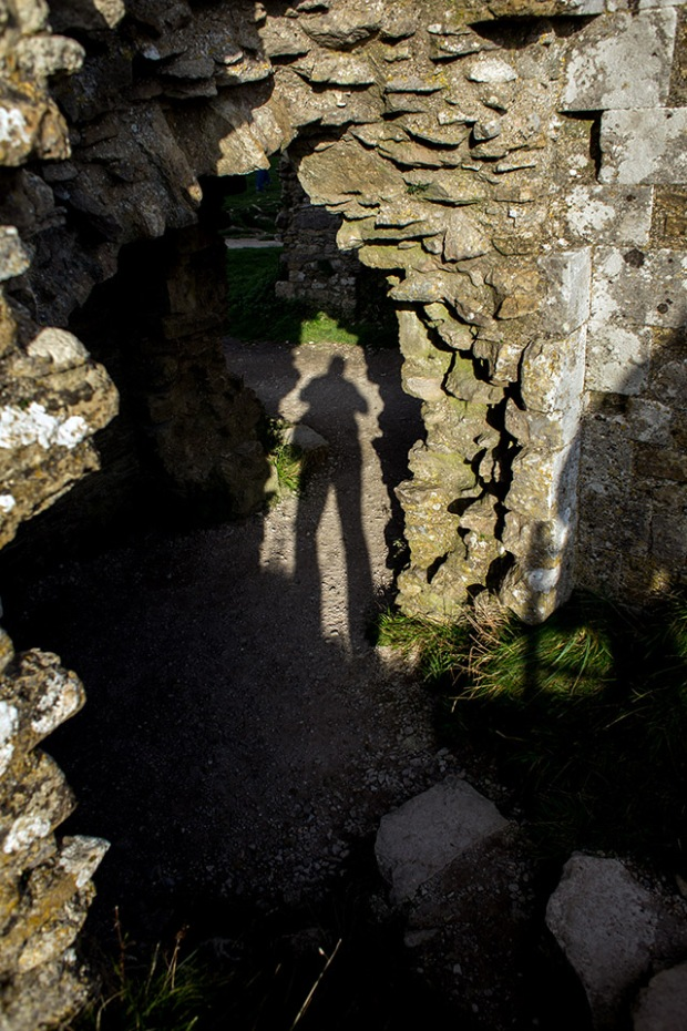 ©Neil Turner, October 2014. Shooting my own shadow with a 28mm f1.8 lens.