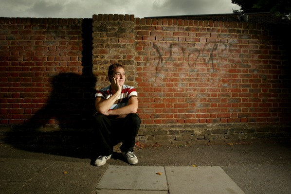 ©Neil Turner/TSL. July 2003. English, Media Studies and Philosophy teacher in a north London comprehensive school.